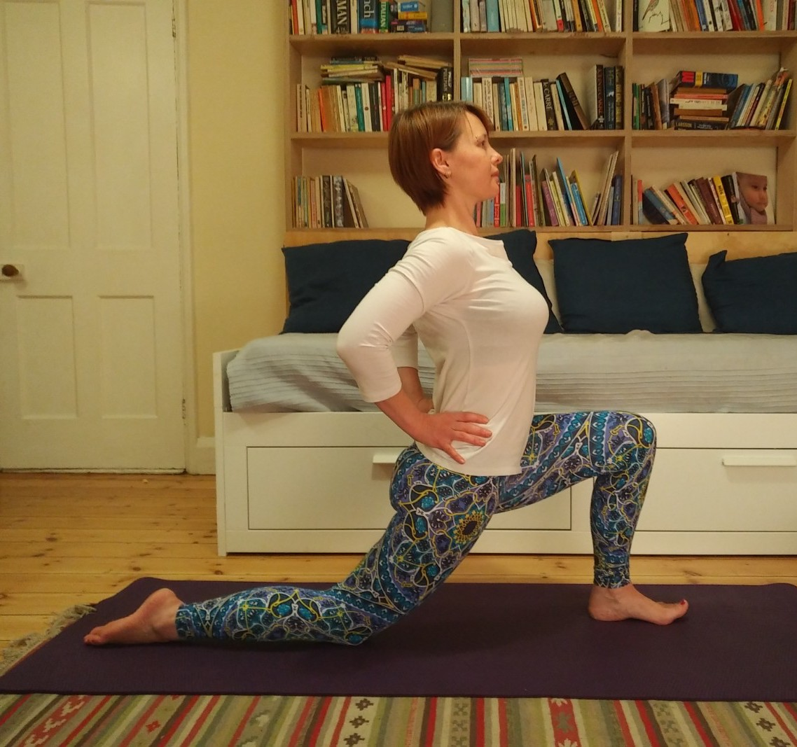 Lunge with Back Traction